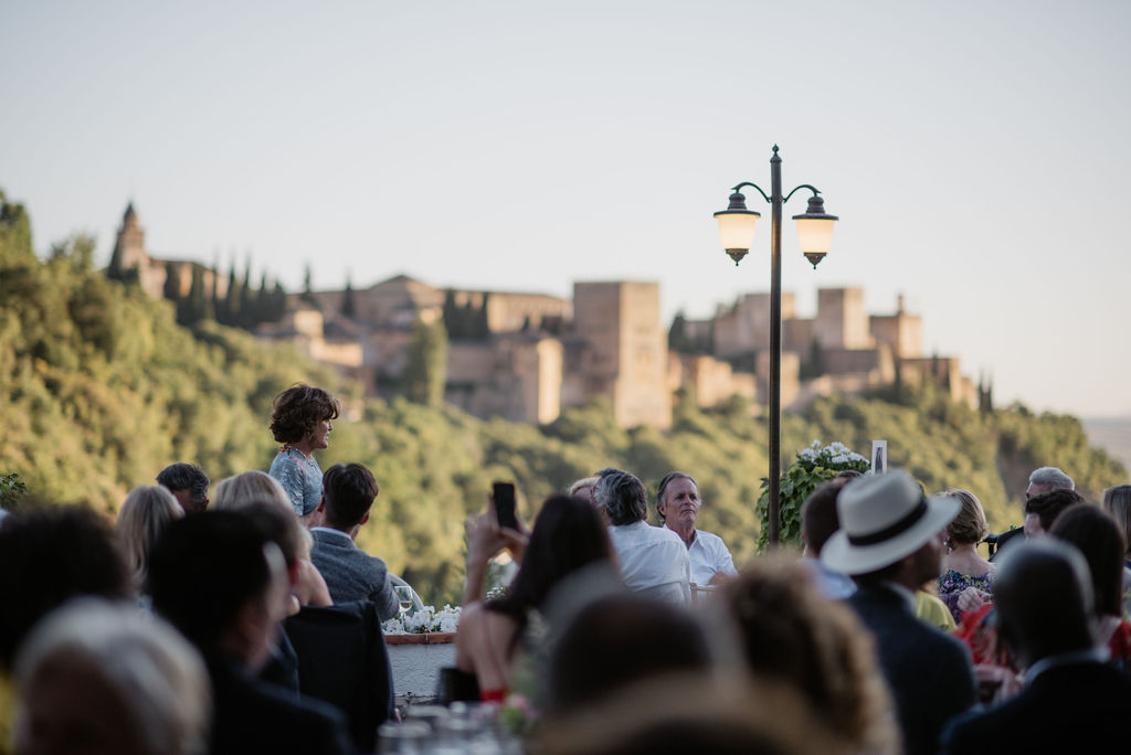 Wedding Breakfast with a view - Wedding Planner, AWOL Granada, Spain